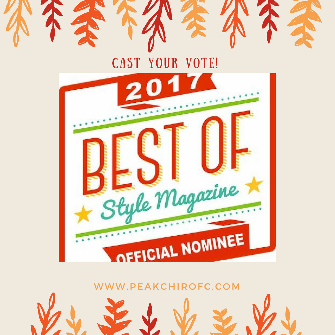 best chiropractor fort collins nominee