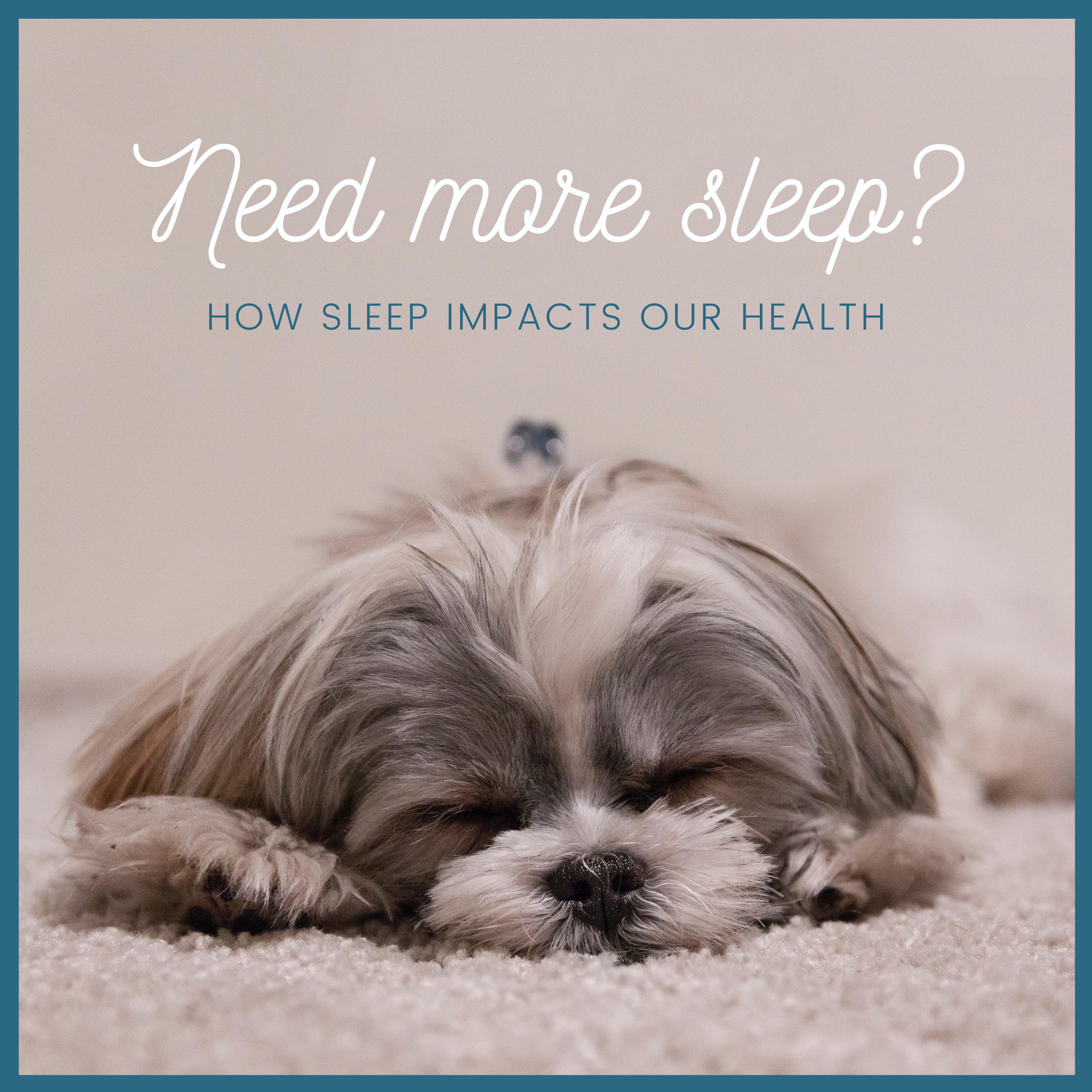 sleep and health, chiropractor fort collins